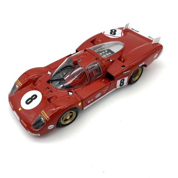 Ferrari 512S Long Tail #8 Merzario/Regazzoni 24h Le Mans 1970 GMP 1:18