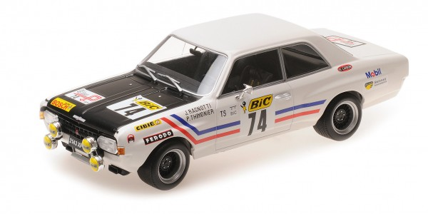 Opel Commodore A Steinmetz Ragnotti/Thimonier Tour de France Automobile 1971 Minichamps 1:18