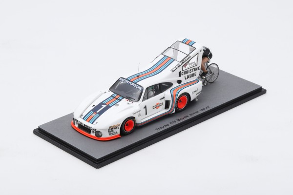 Porsche 935 Henri Pescarolo Bicycle speed record 1977 Rude Spark 1:43