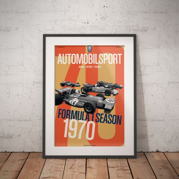 Framed Poster AUTOMOBILSPORT #24 (02/2020) – Formula 1 Season 1970