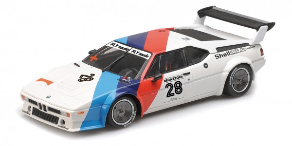 BMW M1 Procar Clay Regazzoni Procar Series 1979 Minichamps 1:12