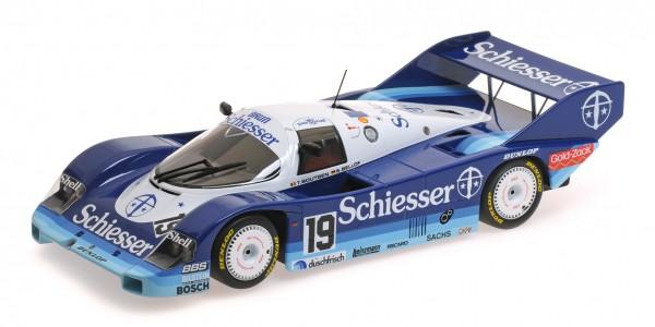 Porsche 956K Bellof/Boutsen 1000km Hockenheim 1985 Minichamps 1:18