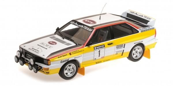 Audi Quattro Röhrl/Geistdörfer Rallye New Zealand 1984 Minichamps 1:18