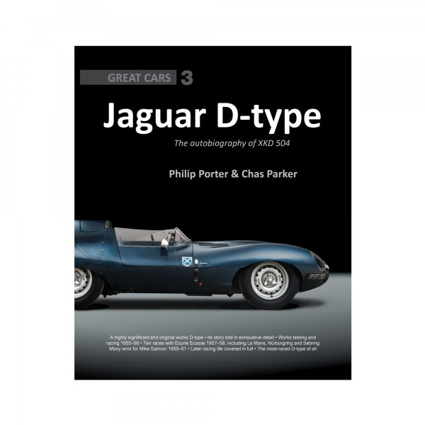 Jaguar D-type – The autobiography of XKD 504