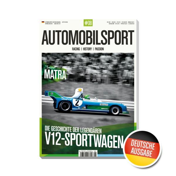 AUTOMOBILSPORT #08 (02/2016) – Deutsche Ausgabe