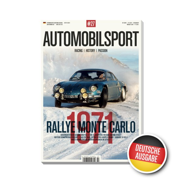 AUTOMOBILSPORT #27 (01/2021) – German edition – Cover
