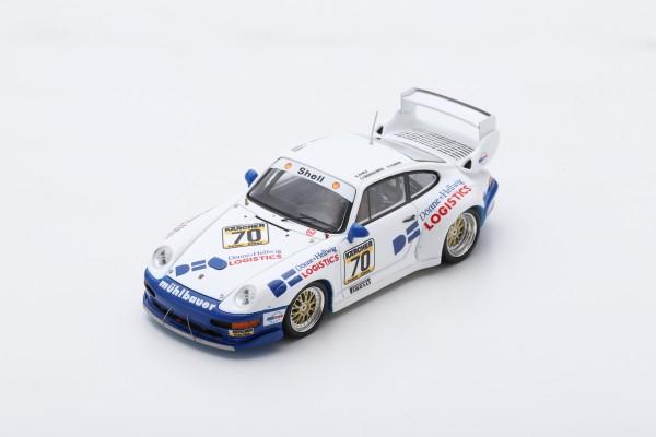 Porsche 911 GT2 Oberndorfer/Hübner 1000km Paris 1995 Spark 1:43