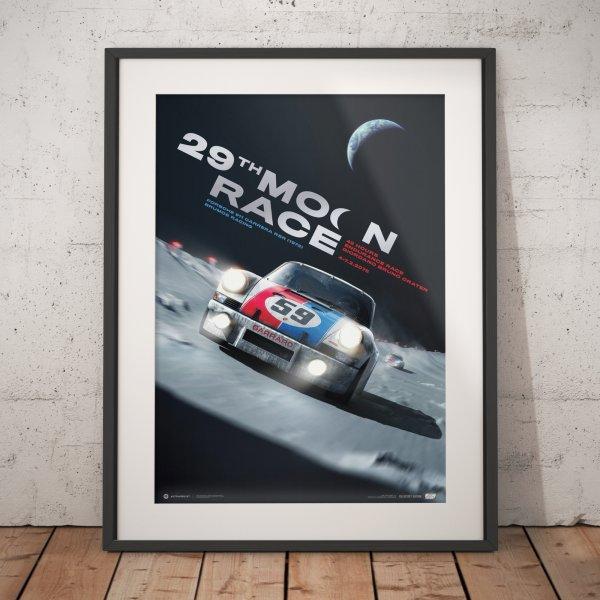 Porsche 911 Carrera RSR – 29th Moon Race – 2078 – Poster | Collector's Edition