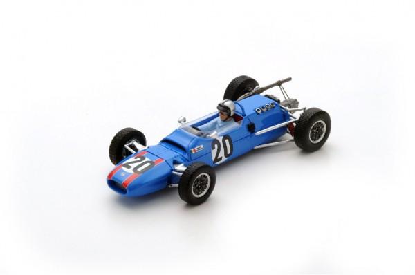 Matra MS5 Pedro Rodriguez F2 Reims 1966 Spark 1:43