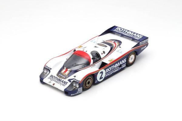 Porsche 956 Mass/Schuppan 24h Le Mans 1982 Spark 1:18