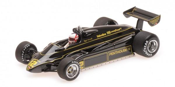 Lotus 91 Nigel Mansell F1 1982 Minichamps 1:43