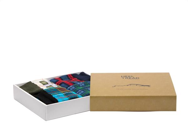 Heel Tread Socks – 930 Tartan Special Edition Pack