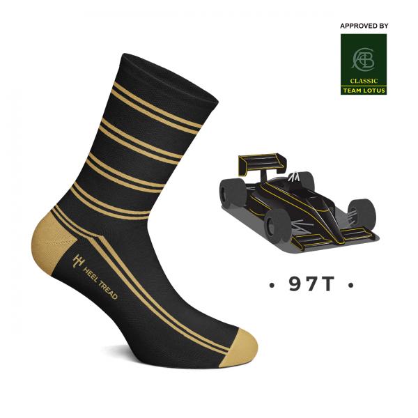Heel Tread Socken – 97T