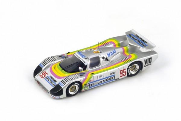 Sauber C6 Bassaler/Lacaud/Tapy 24h Le Mans 1986 Spark 1:43