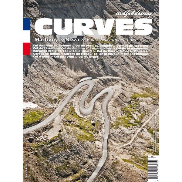 CURVES Band 1 – Frankreich / Martigny – Nizza: Route des Grandes Alpes