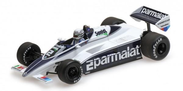 Brabham BT50 Riccardo Patrese F1 1982 Minichamps 1:43