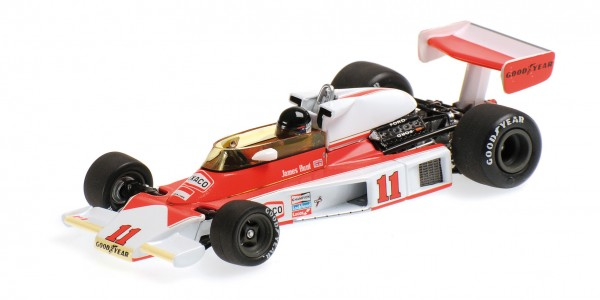 McLaren M23 James Hunt F1 1976 Minichamps 1:18