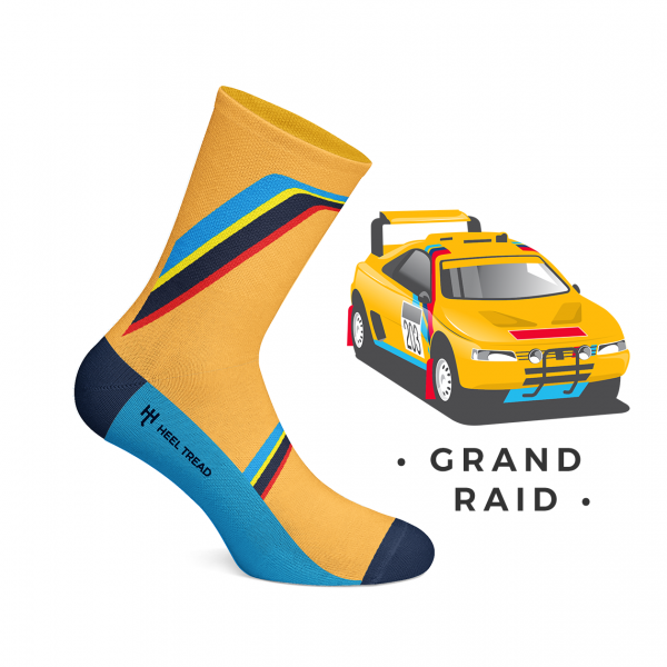 Heel Tread Socken – Grand Raid