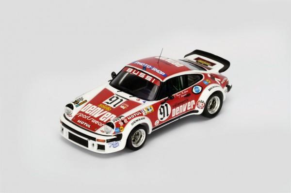 Porsche 934 Bussi/Salam/Grandet 24h Le Mans 1980 Spark 1:43