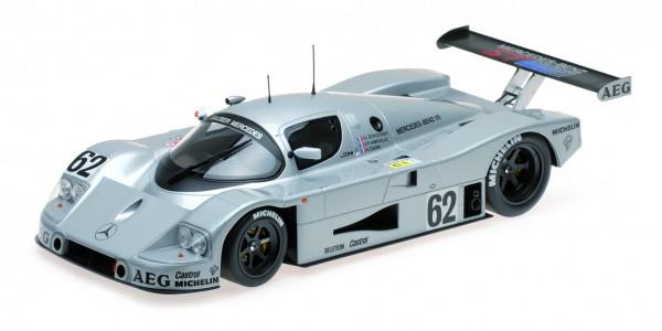 Sauber-Mercedes C9 Schlesser/Jabouille/Cudini 24h Le Mans 1989 Minichamps 1:18