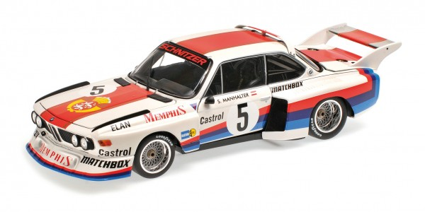 BMW 3.5 CSL Sepp Manhalter Havirov International 1977 Minichamps 1:12