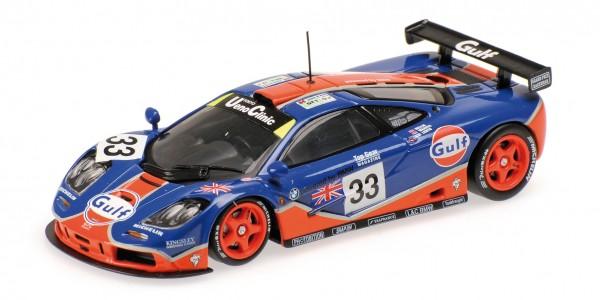 McLaren F1 GTR Lehto/Weaver/Bellm 24h Le Mans 1996 Minichamps 1:18