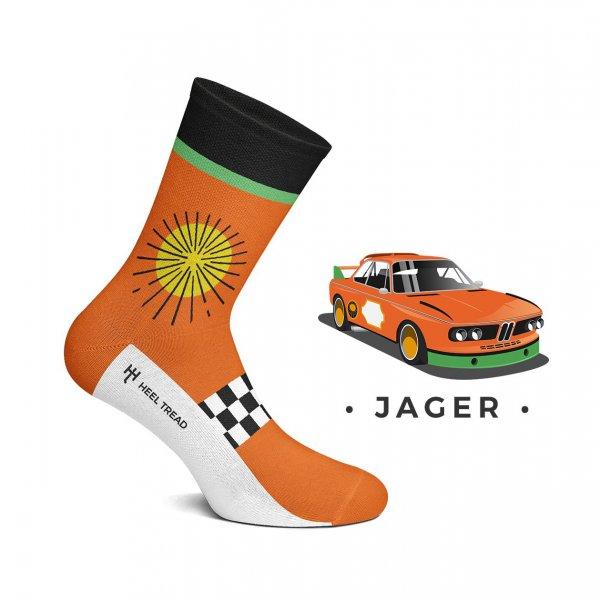 Heel Tread Socken – Jager