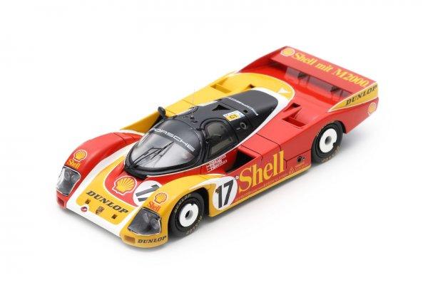 Porsche 962C Bell/Ludwig/Stuck 24h Le Mans 1988 Spark 1:43
