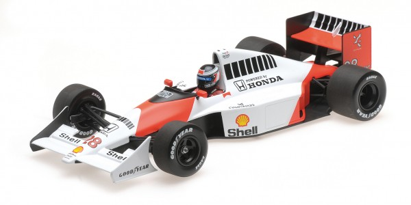 McLaren MP4/5B Gerhard Berger F1 1990 Minichamps 1:18
