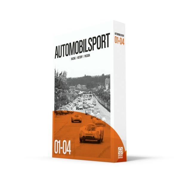 Slipcase AUTOMOBILSPORT #01-#04