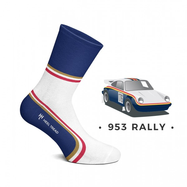 Heel Tread socks – 953 Rally
