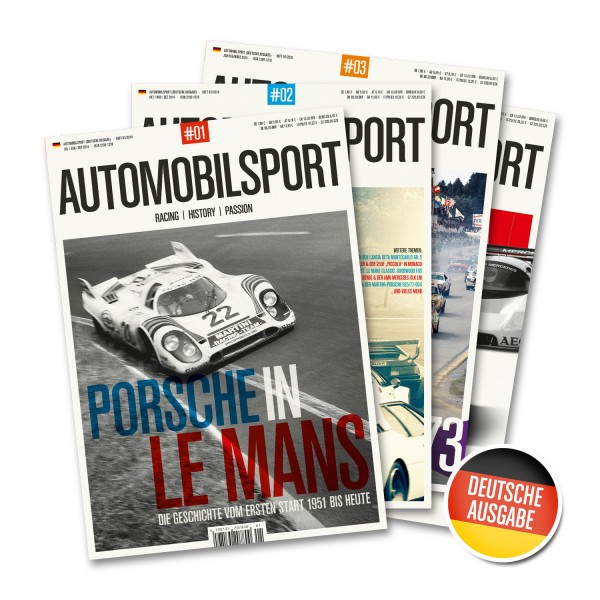 Gift subscription AUTOMOBILSPORT – 4 issues