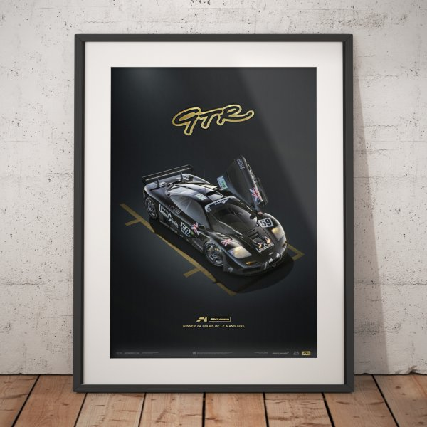 McLaren F1 GTR – 24 h Le Mans – Poster | Collector's Edition