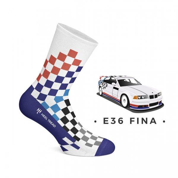 Heel Tread Socken – E36 FINA