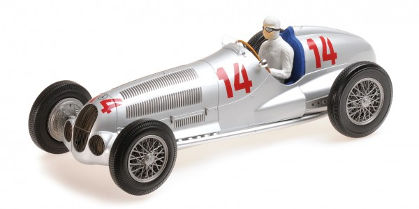 Mercedes-Benz W125 Manfred von Brauchitsch GP Deutschland 1937 Minichamps 1:18
