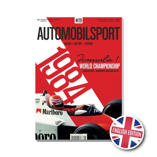 AUTOMOBILSPORT #29 (03/2021) – Englische Ausgabe – Cover
