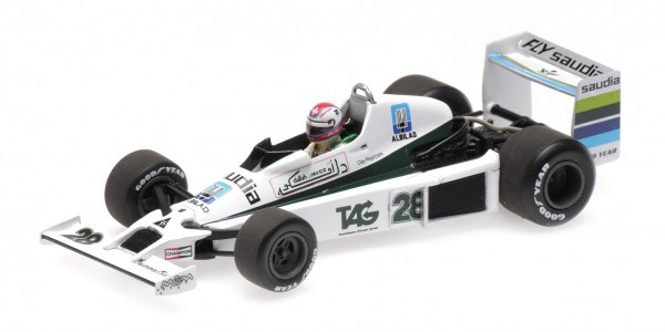 Williams FW06 Clay Regazzoni Long Beach 1979 Minichamps 1:43