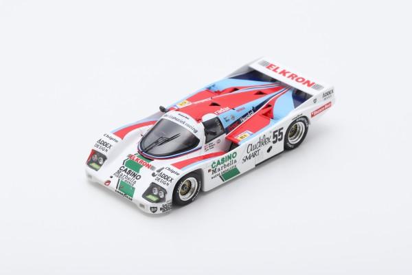 Porsche 962C Alliot/Romero/Trolle 24h Le Mans 1986 Spark 1:43