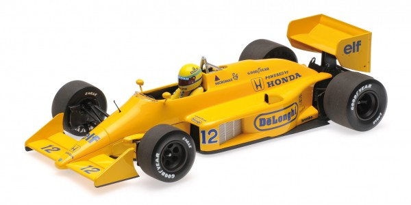 Lotus 99T Ayrton Senna Monaco GP 1987 Minichamps 1:18
