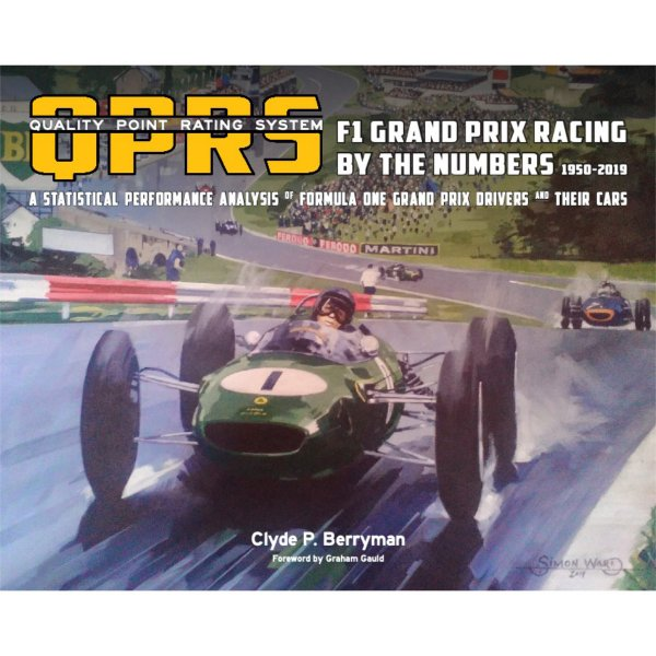 Quality Point Rating System (QPRS) – F1 Grand Prix Racing by the Numbers 1950–2019 – Cover