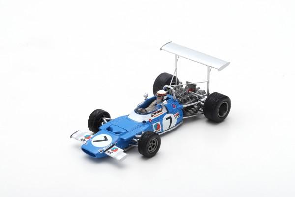 Matra MS80 Jackie Stewart Spanish GP 1969 Spark 1:43