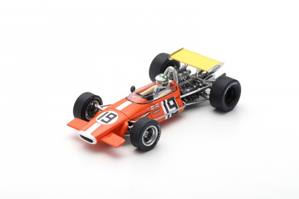 Brabham BT24 Silvio Moser US American GP 1969 Spark 1:43