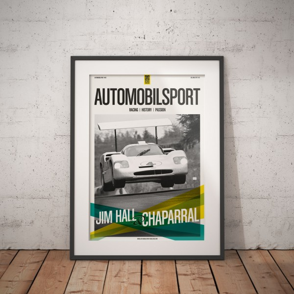 Poster AUTOMOBILSPORT #05 (2 sided) – Chaparral 2F