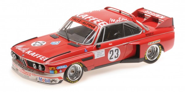 BMW 3.0 CSL De Fierlant/Betzler/Grohs Zandvoort Trophy 1975 Minichamps 1:18