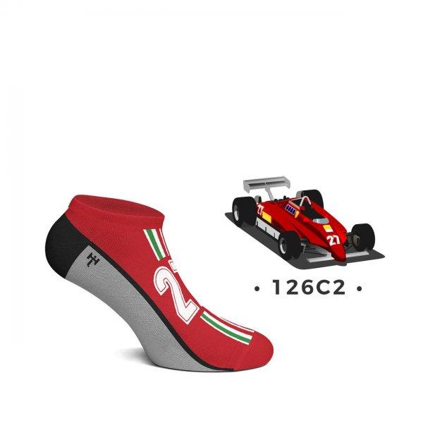 Heel Tread Sneakersocken – 126C2