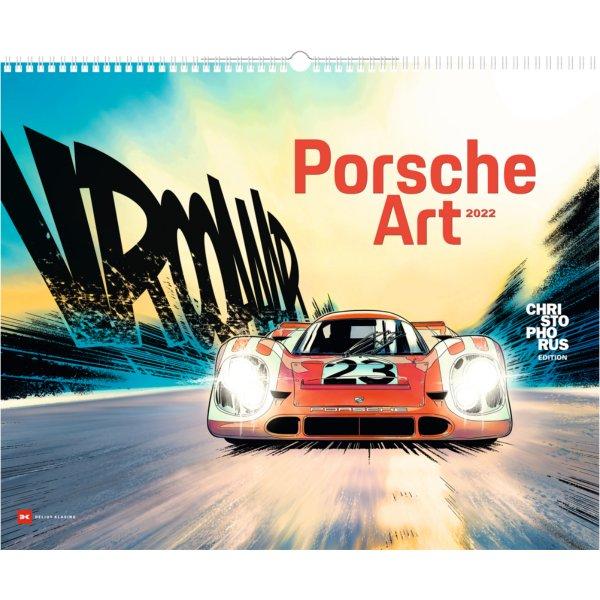 Porsche Art Kalender 2022 – Cover