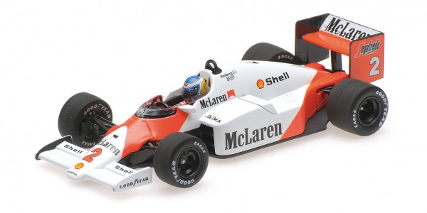 McLaren MP4/2C Keke Rosberg F1 1986 Minichamps 1:18