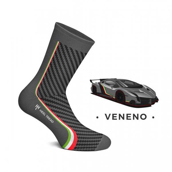 Heel Tread Socken – Veneno