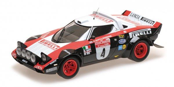 Lancia Stratos Alen/Kivimäki Rallye San Remo 1978 Minichamps 1:18