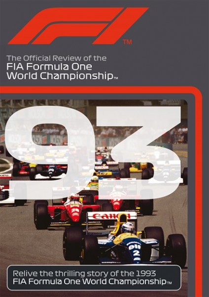 F1 1993 – The Official Review of the FIA Formula One World Championship